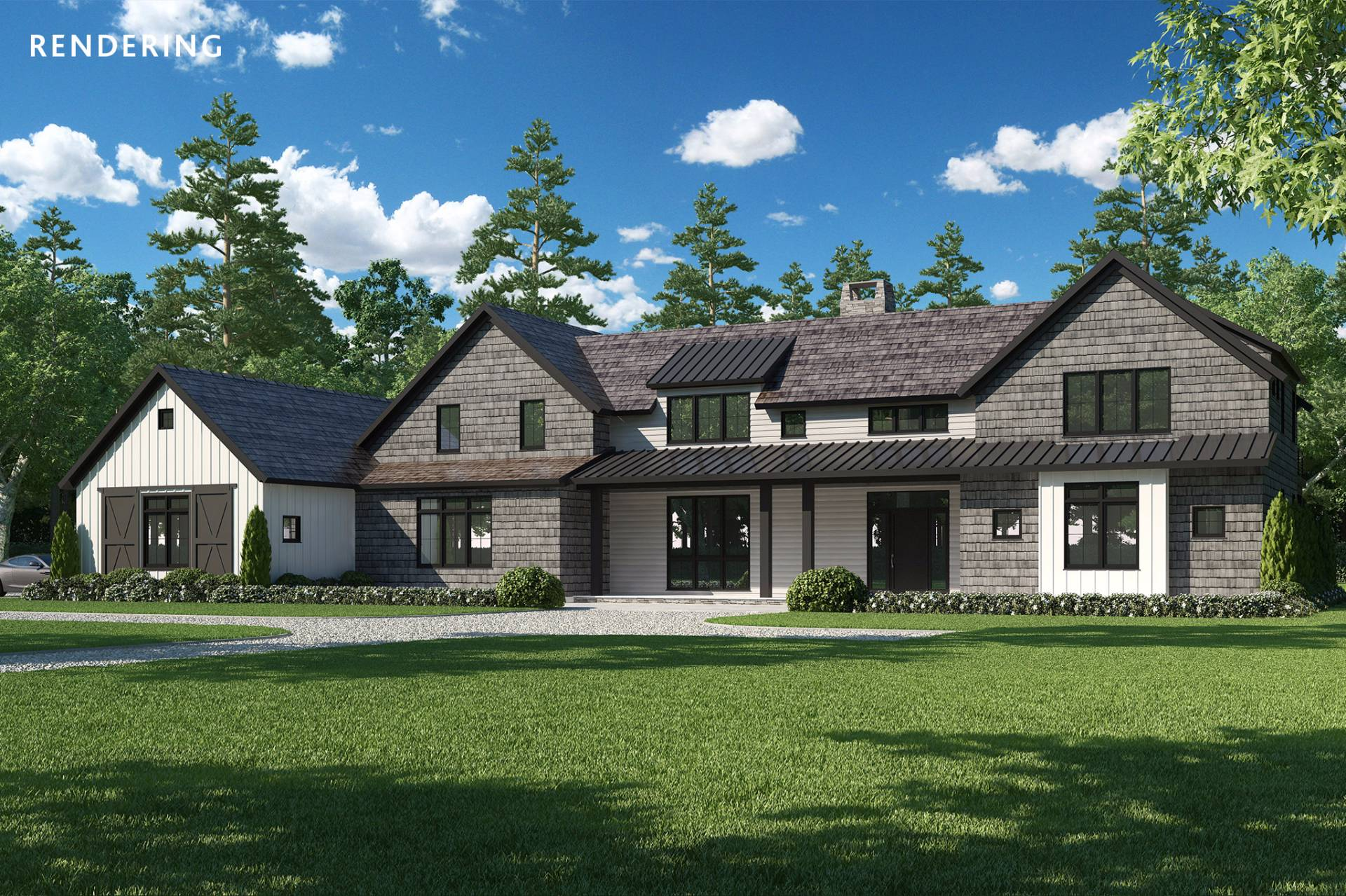 Single Family Home for Sale at New Construction Bordering Reserve With Tennis Bridgehampton, New York