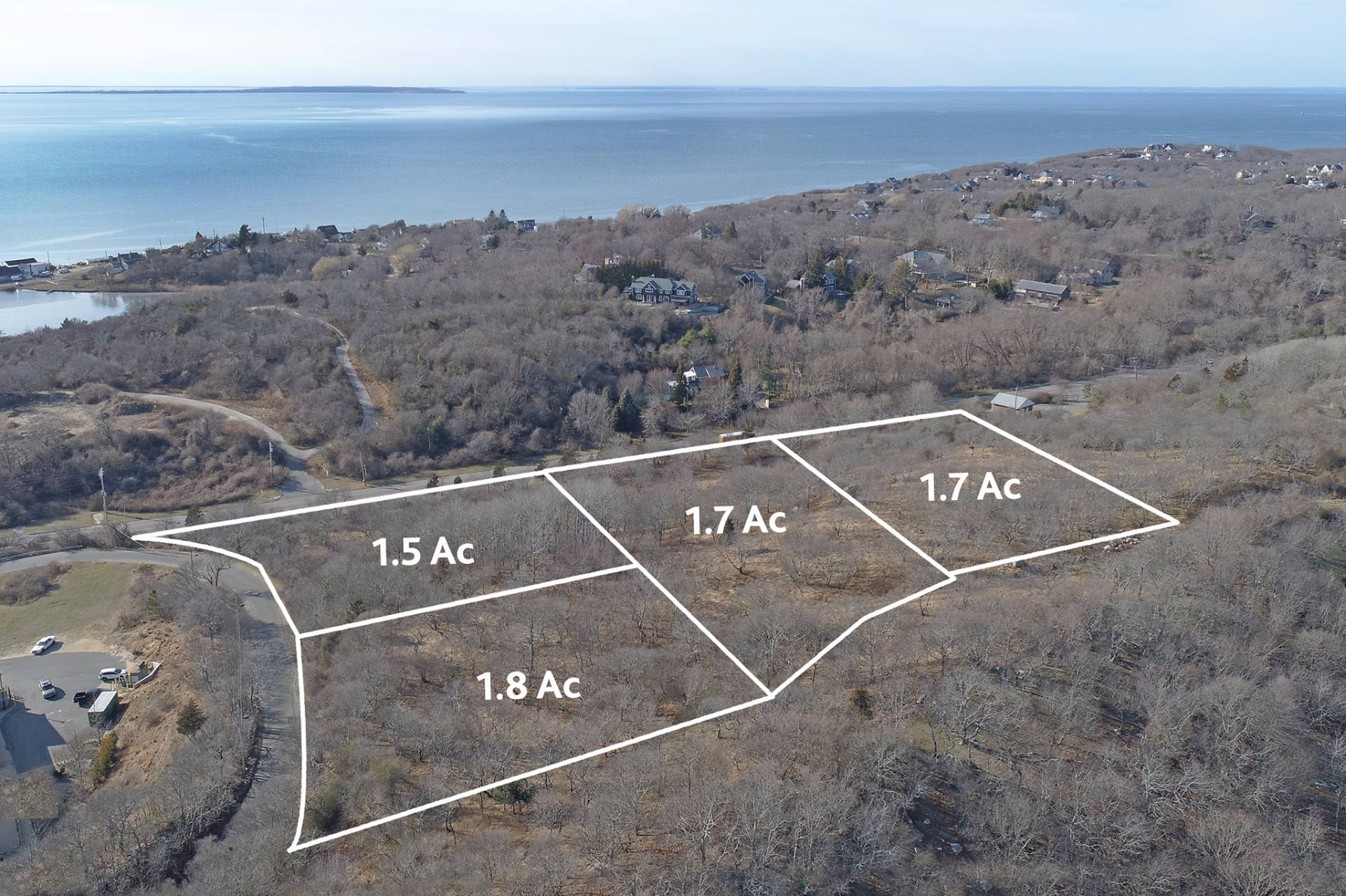 Land for Sale at Four Waterview Building Parcels 20 Fenwick Place, Montauk, New York