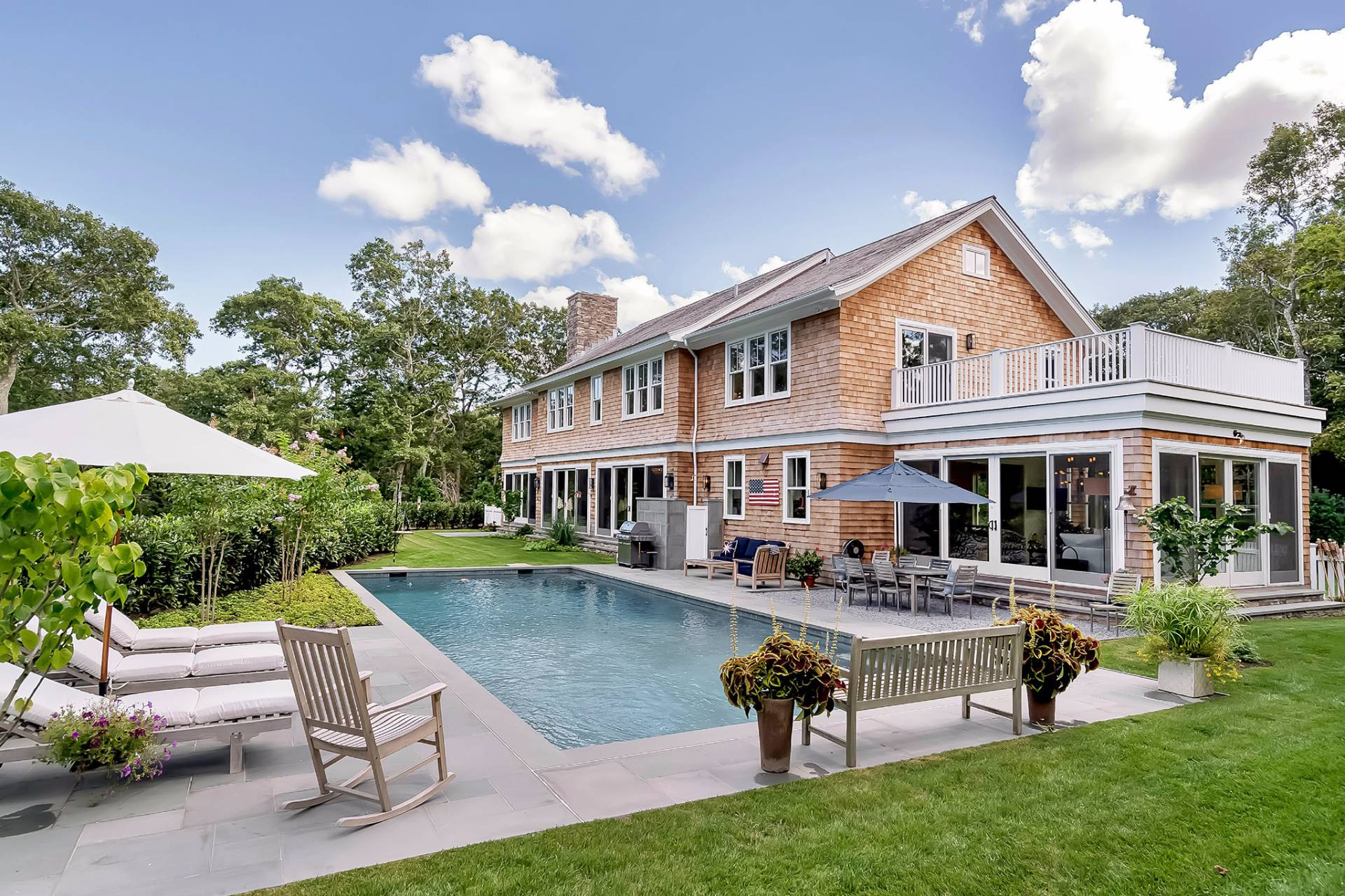 Single Family Home for Sale at Tennis! New And Luxurious Home 171 Springy Banks Road, East Hampton, New York