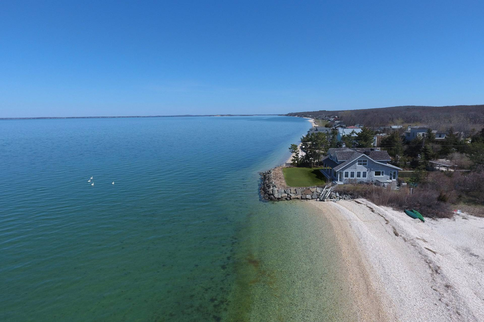 Single Family Home for Sale at Extraordinary Southampton Bayfront 76 Peconic Bay Avenue, Southampton, New York