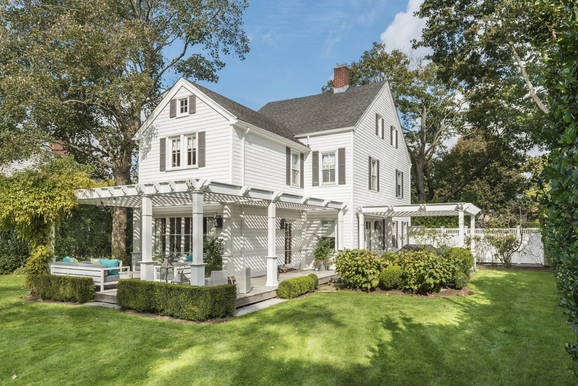 Single Family Home for Sale at Masterful Restoration Of 1820's Traditional 224 Hill Street, Southampton, New York