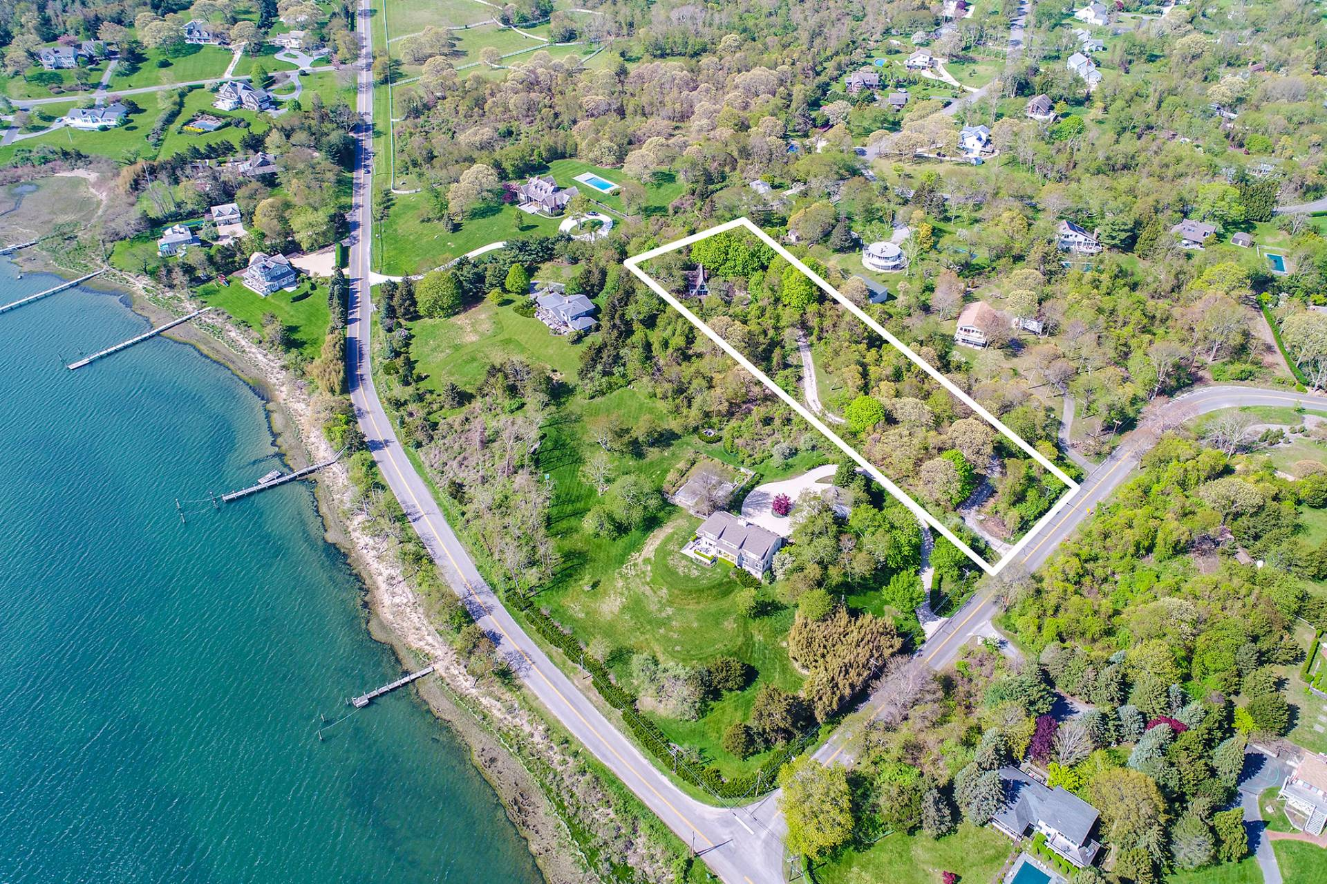 Single Family Home for Sale at Shelter Island Harborview Mid Century A-Frame 62 Cobbetts Lane, Shelter Island, New York