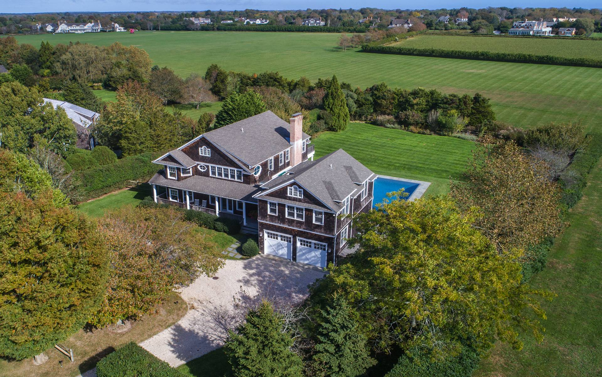 Single Family Home for Sale at Bridgehampton South With Forever Farm And Orchard Views 715 Halsey Lane, Bridgehampton, New York