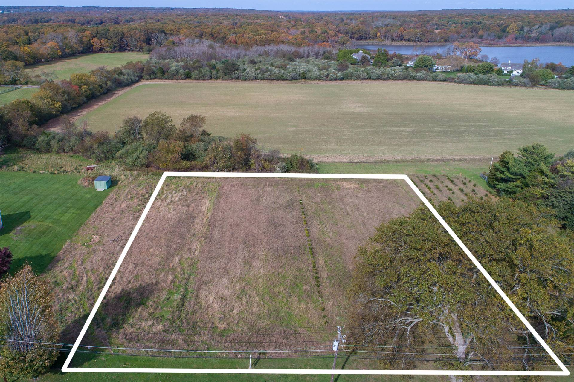 Land for Sale at Forever Farm Views 2892 Montauk Highway, Bridgehampton, New York