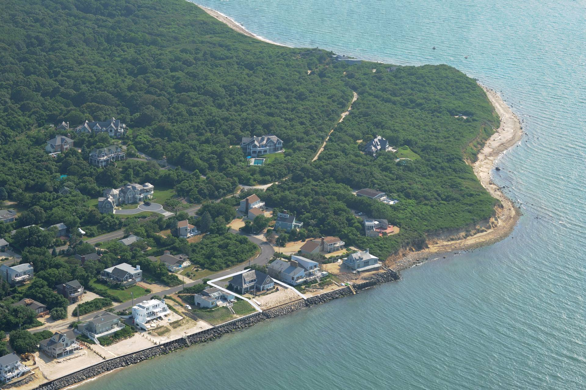 Single Family Home for Sale at Magnificent Waterfront In Montauk 32 Captain Kidds Path, Montauk, New York