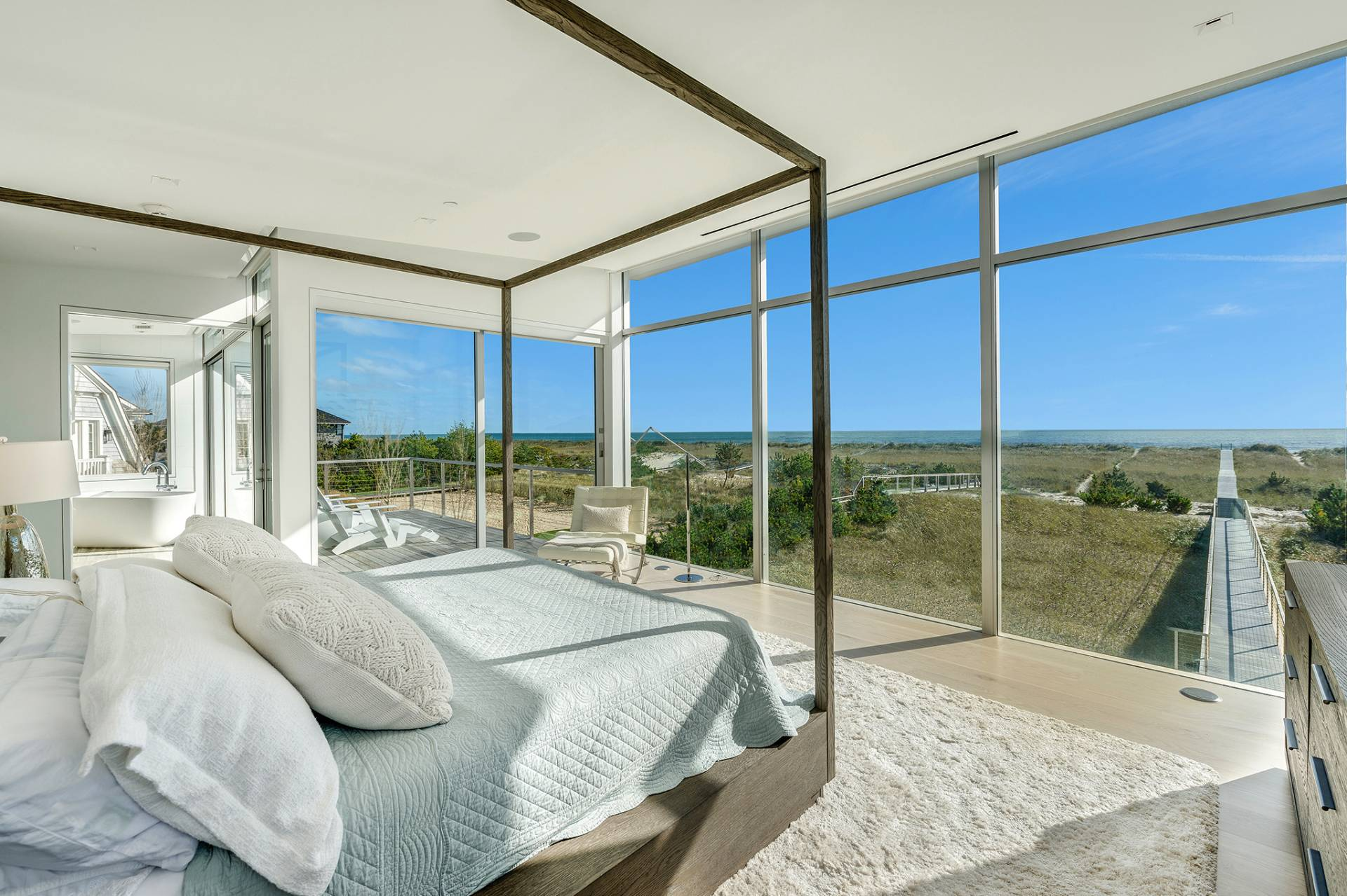 Single Family Home for Sale at Modern Oceanfront Masterpiece 'Between The Bridges' Westhampton Beach, New York