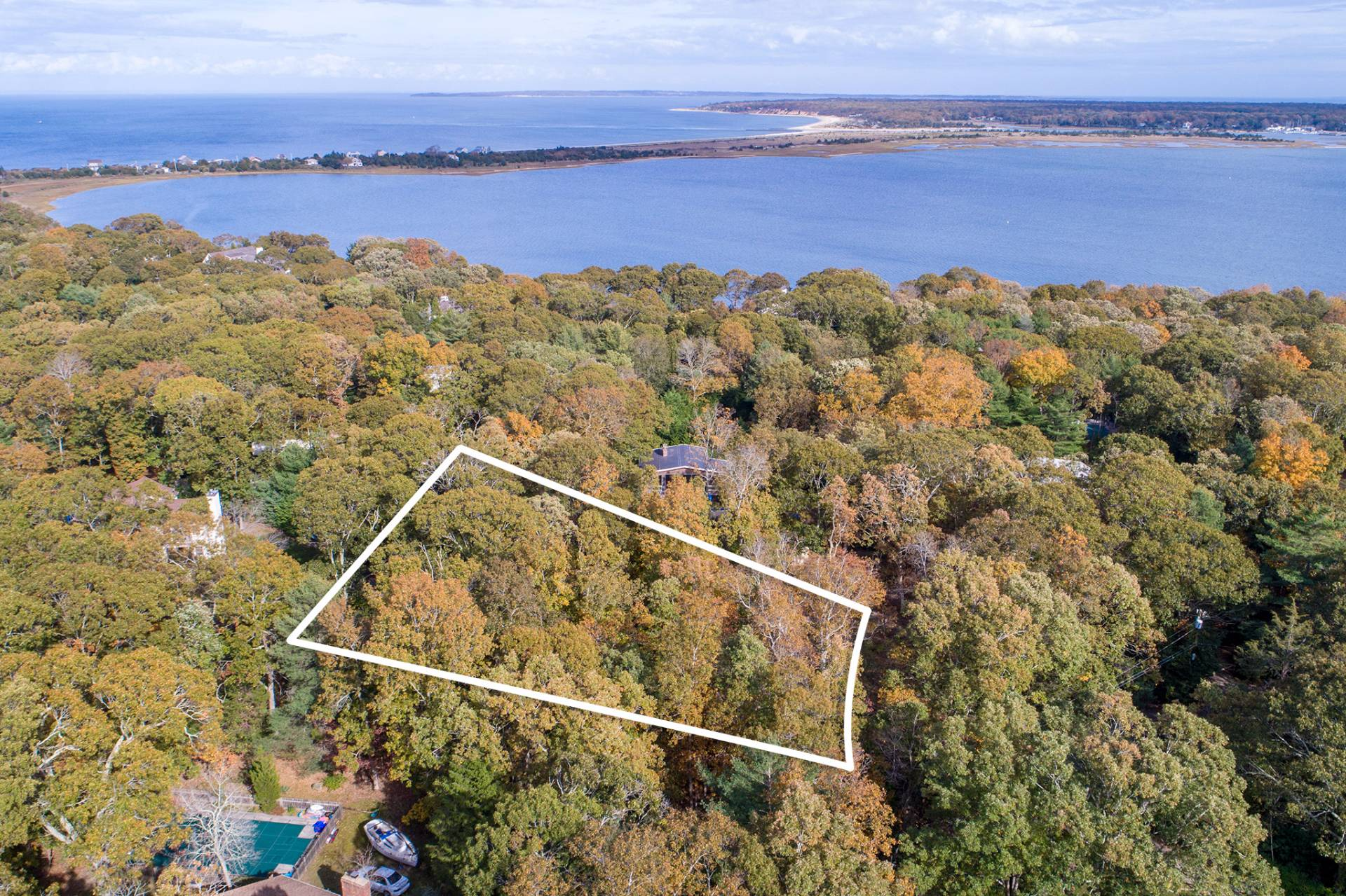 Land for Sale at Beautiful Settlers Landing Land With Plans And Permits 28 Settlers Landing Lane, East Hampton, New York