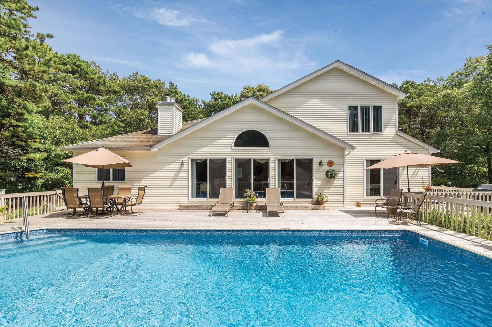 Single Family Home for Sale at Postmodern Perfection 58 Lakeside Lane, Westhampton, New York