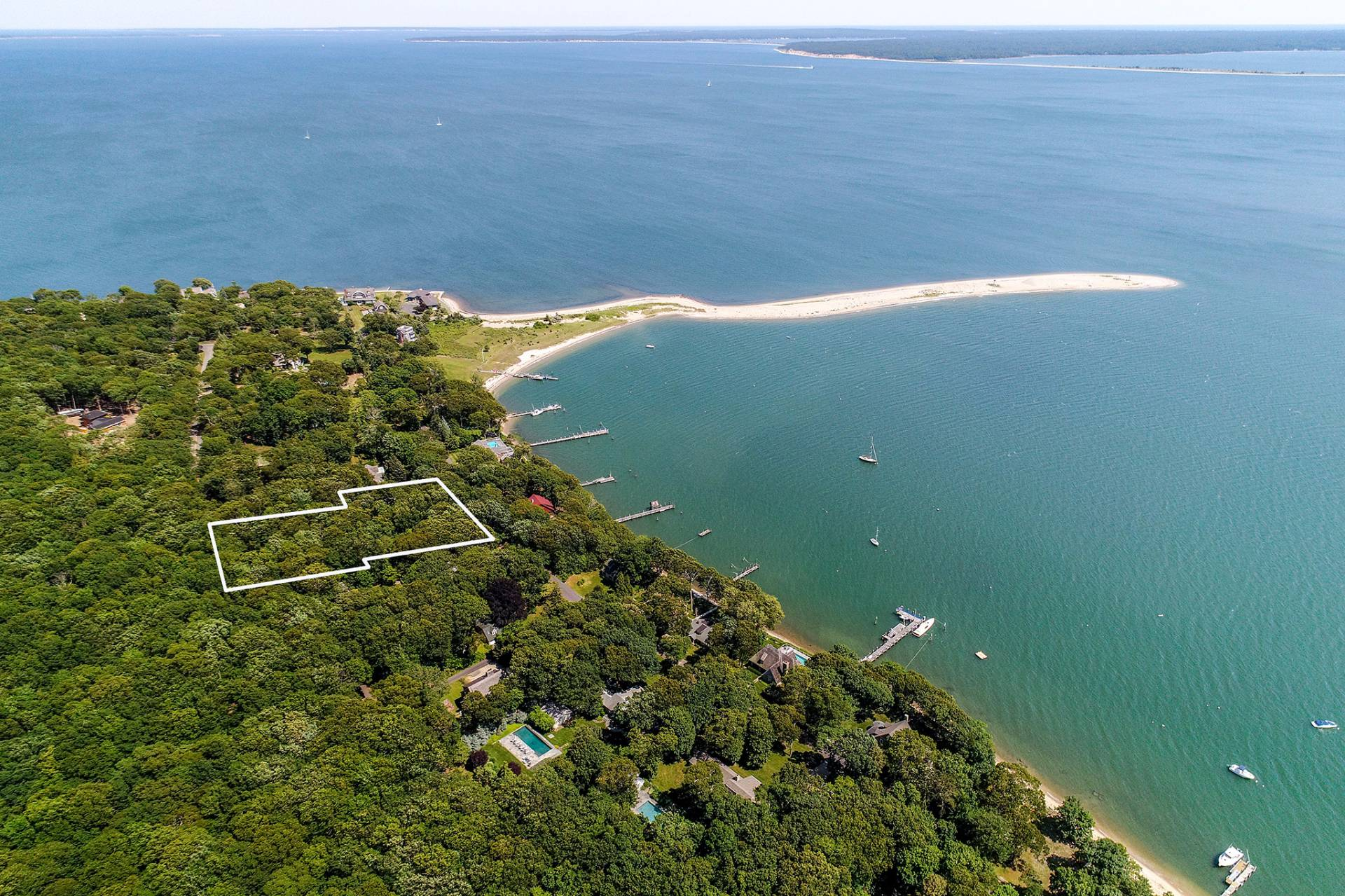 Land for Sale at Ram Island Harborview Acreage 49 Tuthill Drive, Shelter Island, New York