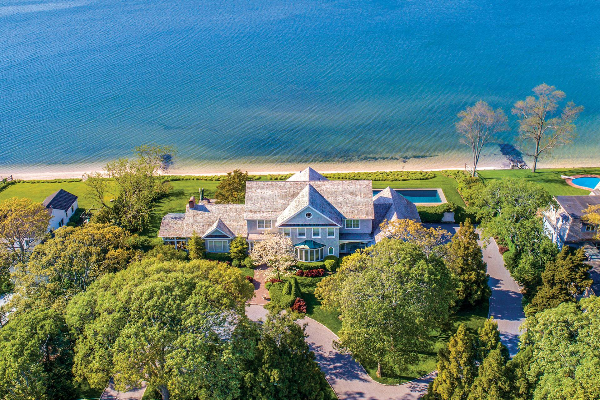 Single Family Home for Sale at The Waterfront Jewel 37 Noyack Bay Avenue, Sag Harbor, New York