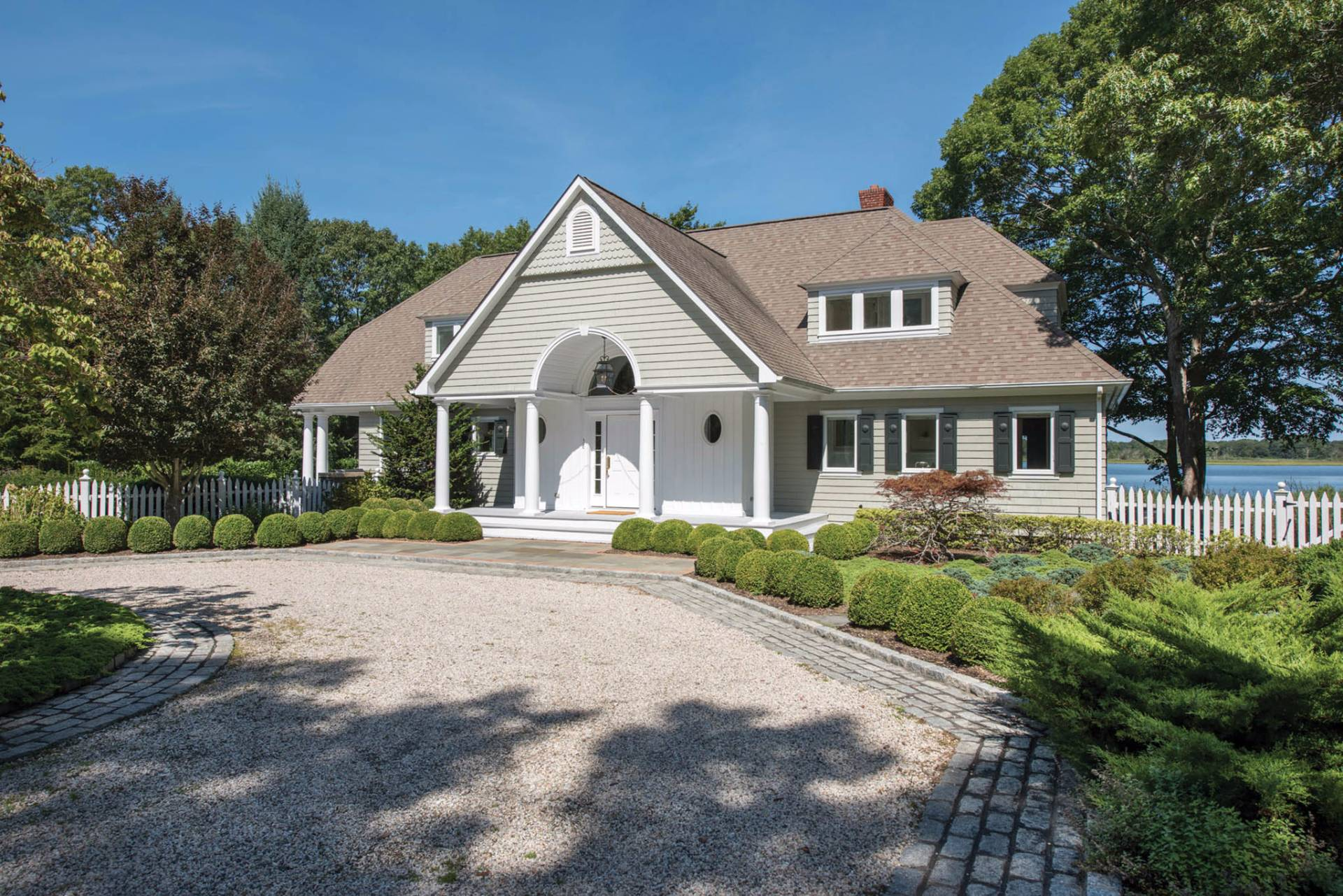 Single Family Home for Sale at Beautiful Southampton Waterfront With Dock 36 And 40a Island Creek Road, Southampton, New York
