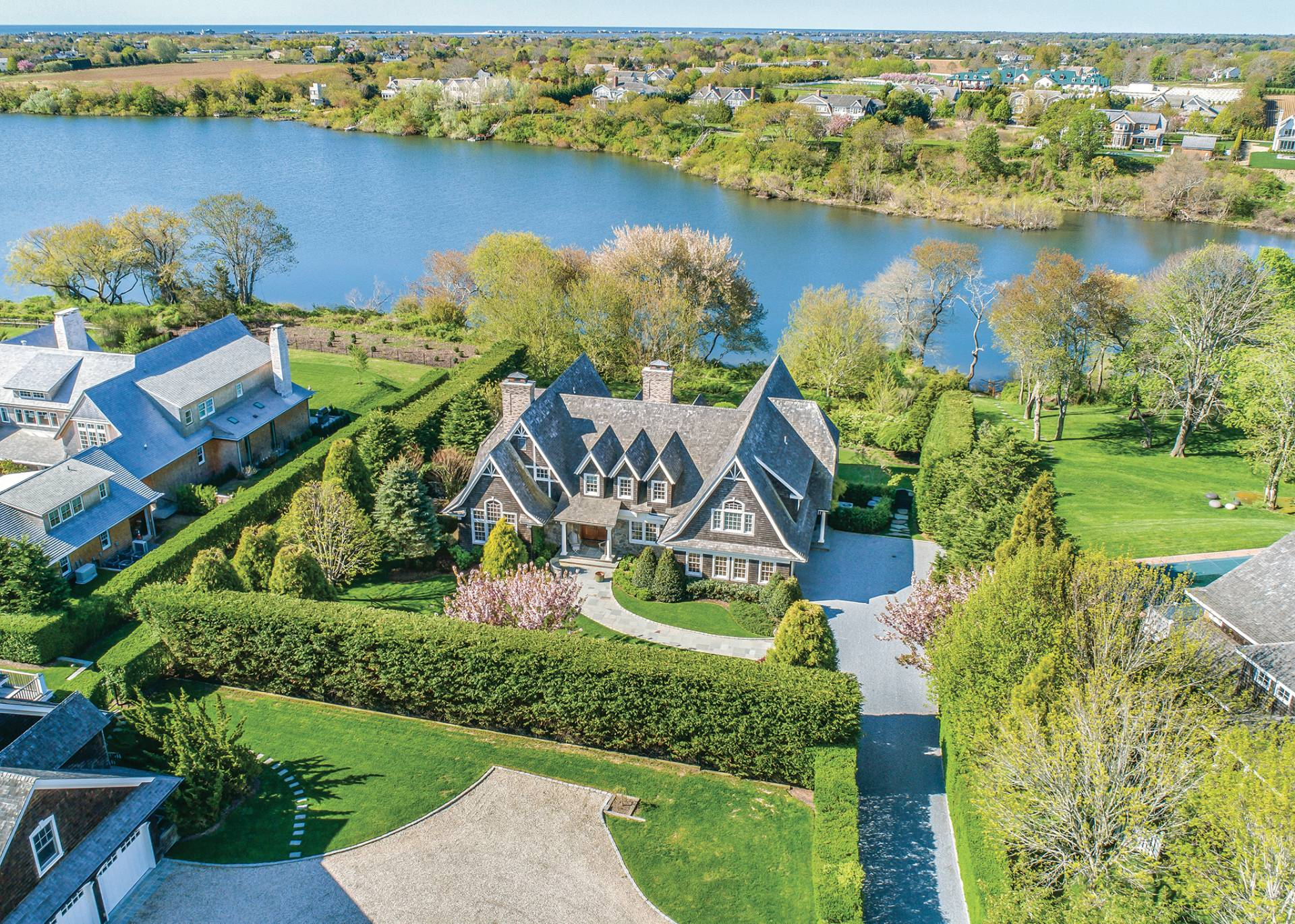 Single Family Home for Sale at Bridgehampton Waterfront With A Dock 7 Kellis Way, Bridgehampton, New York